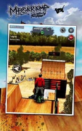 دانلود بازی اسکیت سواری اندروید MegaRamp BMX